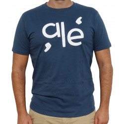Camiseta - 'ale' - Azul Denim